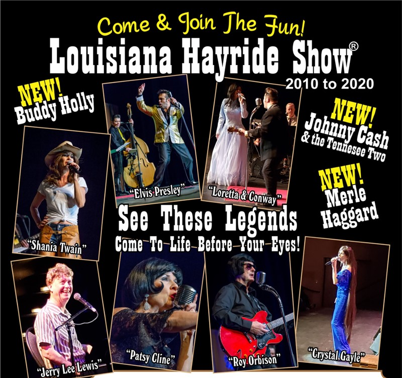 Get Information and buy tickets to Louisiana Hayride Show  on Manluk Theatre