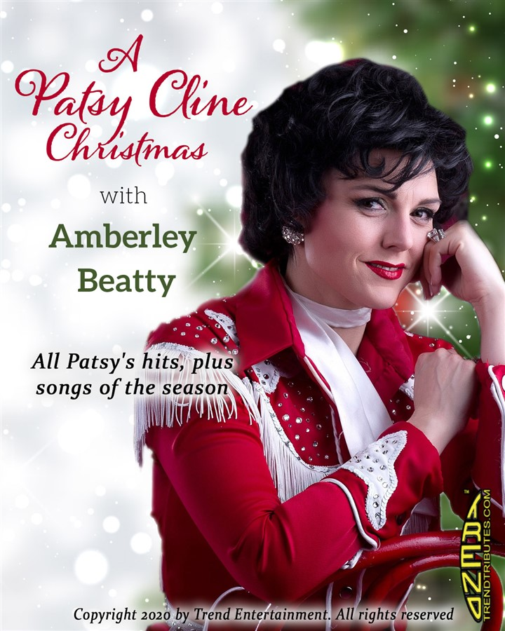 Get Information and buy tickets to A PATSY CLINE CHRISTMAS Starring: Amberley Beatty on Manluk Theatre