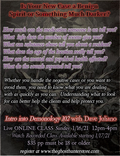 1/16/21 Virtual Event