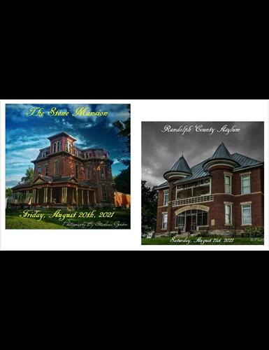 8/20/21 The Stone Mansion & Randolph County Asylum