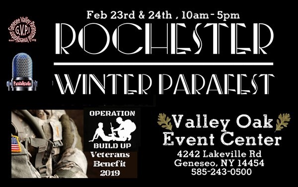 Get Information and buy tickets to Rochester Winter Parafest Sat 2/23 & Sun 2/24 on Thriller Events