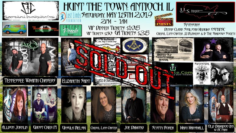 Get Information and buy tickets to Hunt The Town! Antioch, Illinois! on Thriller Events