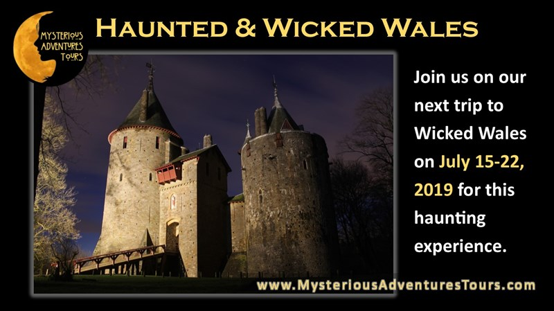 Get Information and buy tickets to Wicked Wales 7 day Tour! A Mysterious Adventures Tour! on Thriller Events
