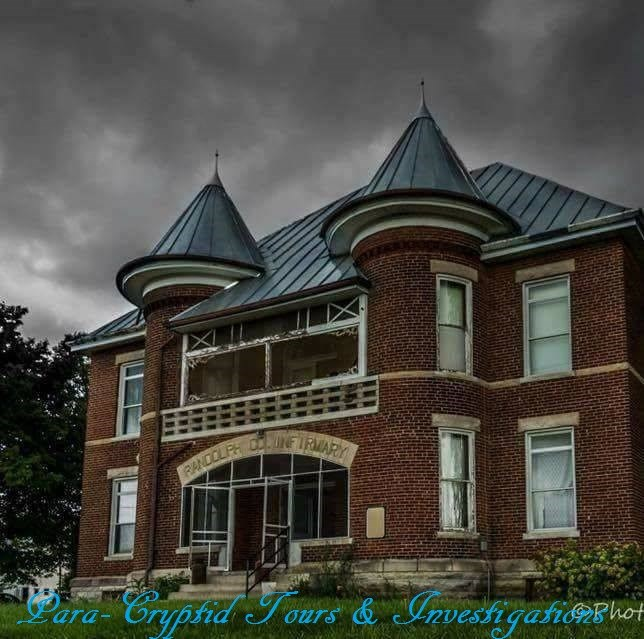 Get Information and buy tickets to Randolph County Asylum Investigaiton & Sleepover Hosted by Para-Cryptid Tours & Investigations on Thriller Events