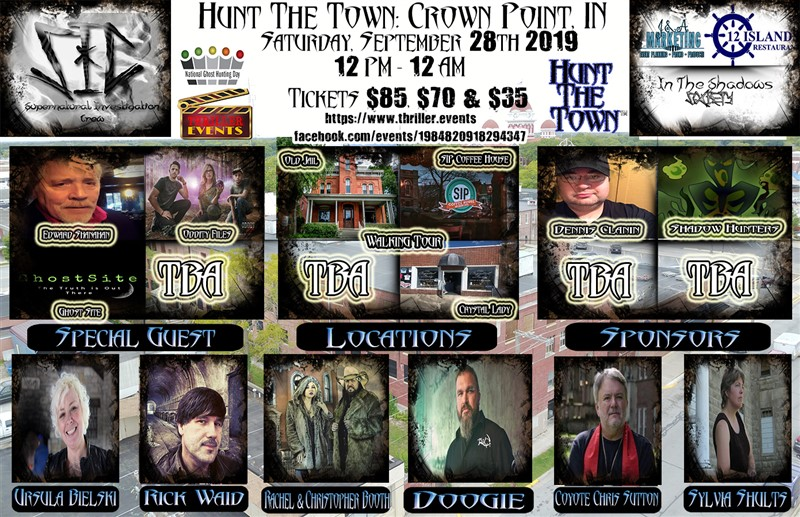 Get Information and buy tickets to Hunt The Town! Crown Point, IN on Thriller Events