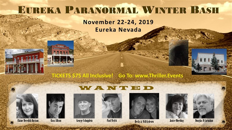Get Information and buy tickets to Eureka Paranormal Winter Bash Presented by Eureka Paranormal on Thriller Events