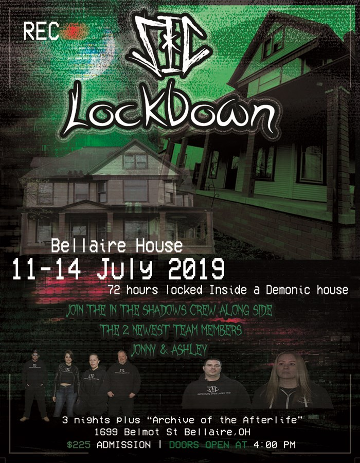 Get Information and buy tickets to SIC 3 Night Lockdown Bellaire House on Thriller Events