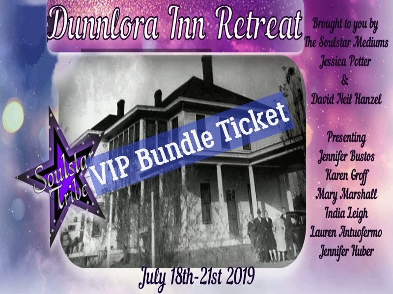 Get Information and buy tickets to Soulstar Tribe Retreat at the Dunnlora Inn Soulstar Mediums on Thriller Events