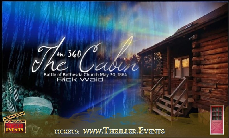 Get Information and buy tickets to Halloween Ghost Hunt And Readings At The Cabin On 360 With Rick Waid on Thriller Events