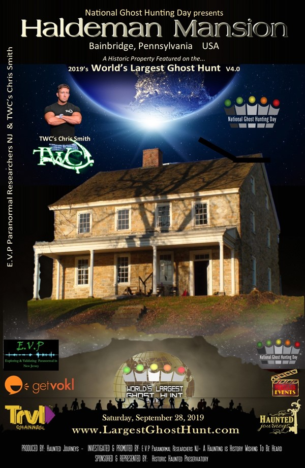 "Get Information and buy tickets to ""WLGH"" Haldeman Mansion w TWC"