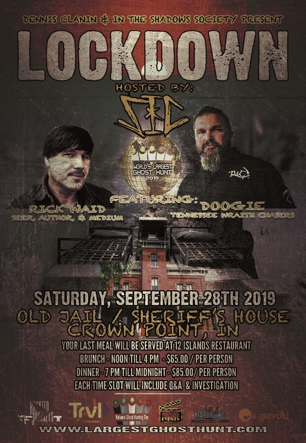 Get Information and buy tickets to LockDown Featuring SIC, Doogie & Rick Waid on Thriller Events