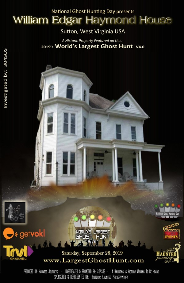 "Get Information and buy tickets to ""WLGH"" Mystical Gathering & Haymond House Ghost Hunt World"