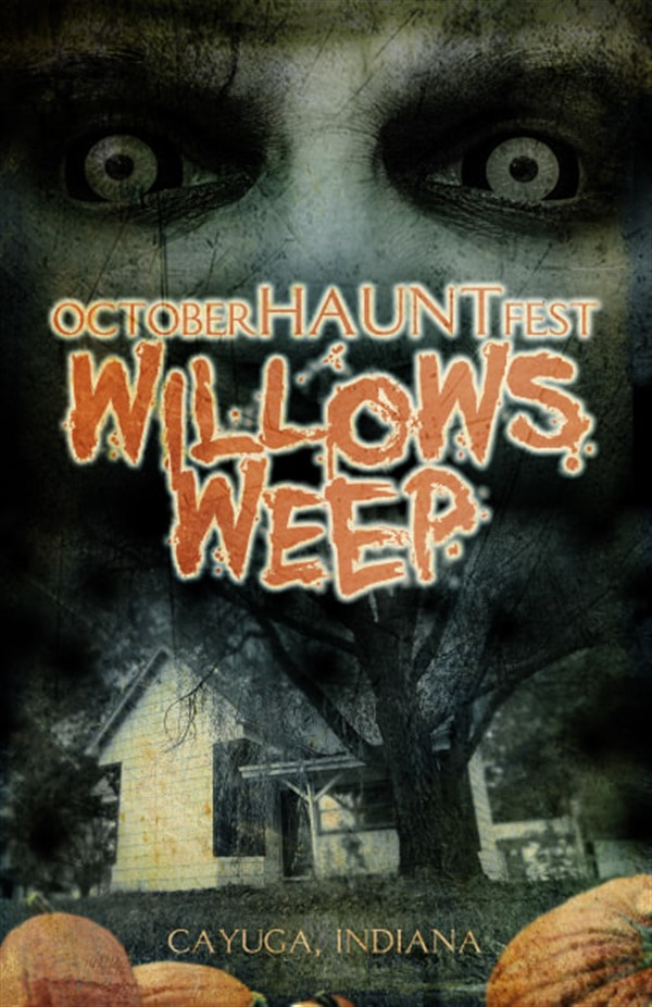 October 29TH HAUNTFEST: Willow's Weep Fundraiser Gathering