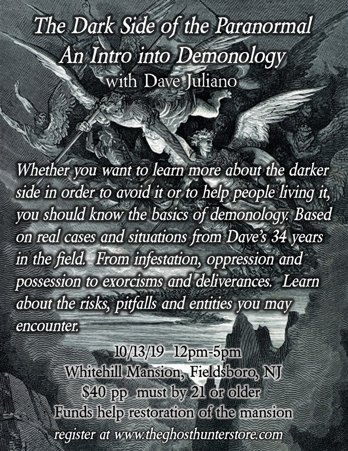 Intro to Demonology with Dave Juliano
