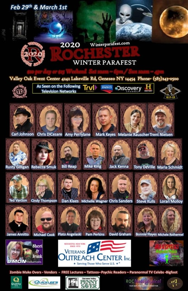 Get Information and buy tickets to 2020 Rochester Winter Parafest Presented by ParaTalkRadio