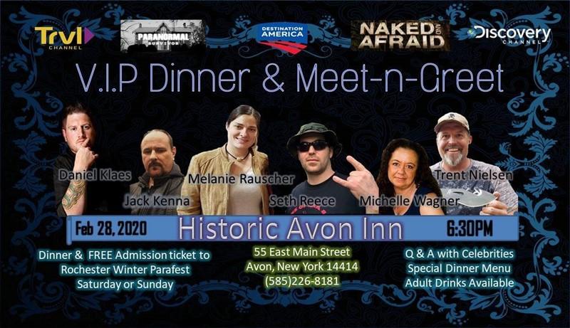Winter ParaFest VIP Dinner & Meet-N-Greet