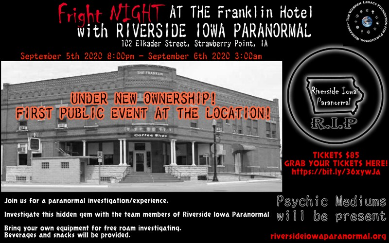 Fright Night at the Franklin Hotel