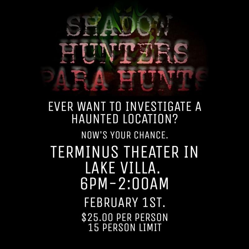 Para Hunt the Haunted Terminus Theater