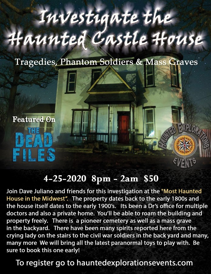 Investigate the Haunted Castle House