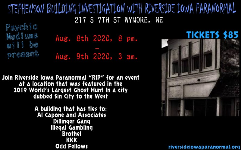 Stephenson Building Investigation
