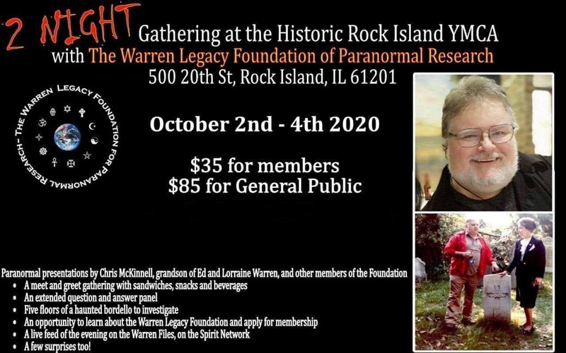 Get Information and buy tickets to Warren Foundation Gathering at Rock Island YMCA  on Thriller Events
