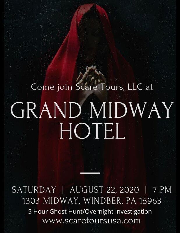 Get Information and buy tickets to Grand Midway Hotel Ghost Hunt Event w/ Scare Tours  on Thriller Events