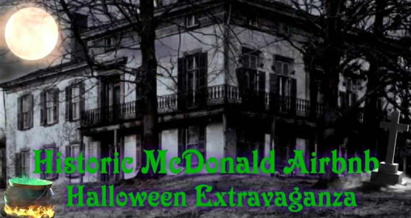 Get Information and buy tickets to Historic McDonald Airbnb Halloween Extravaganza  on Thriller Events