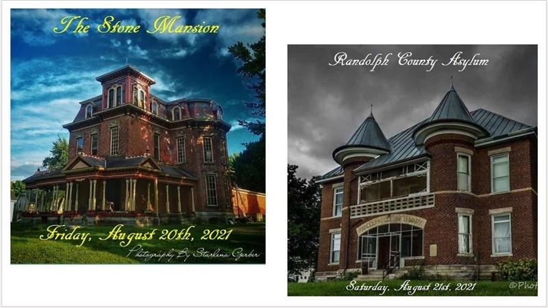 Get Information and buy tickets to The Stone Mansion & Randolph County Asylum Winchester, Indiana on Thriller Events