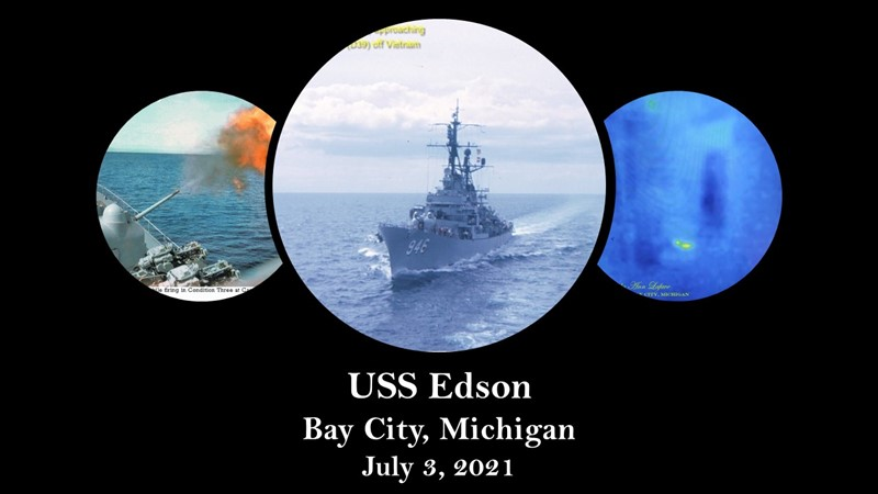 Get Information and buy tickets to USS Edson  on Thriller Events