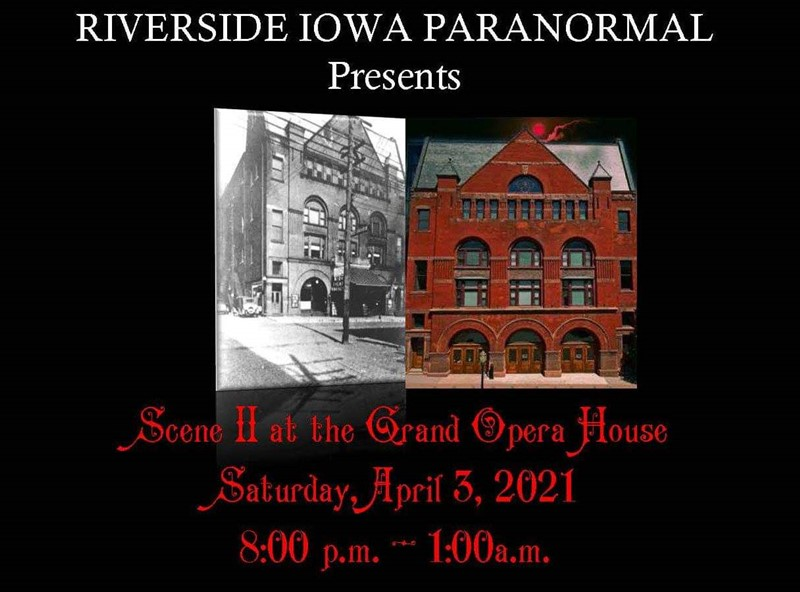 Get Information and buy tickets to Scene II At the Grand Opera House  on Thriller Events