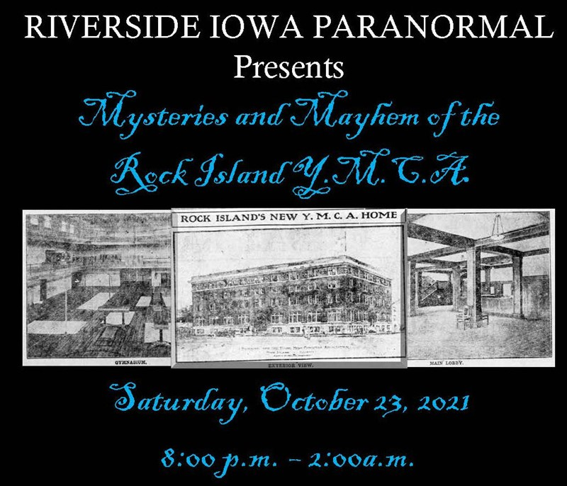 Get Information and buy tickets to Mysteries and Mayhem at the Rock Island YMCA  on Thriller Events