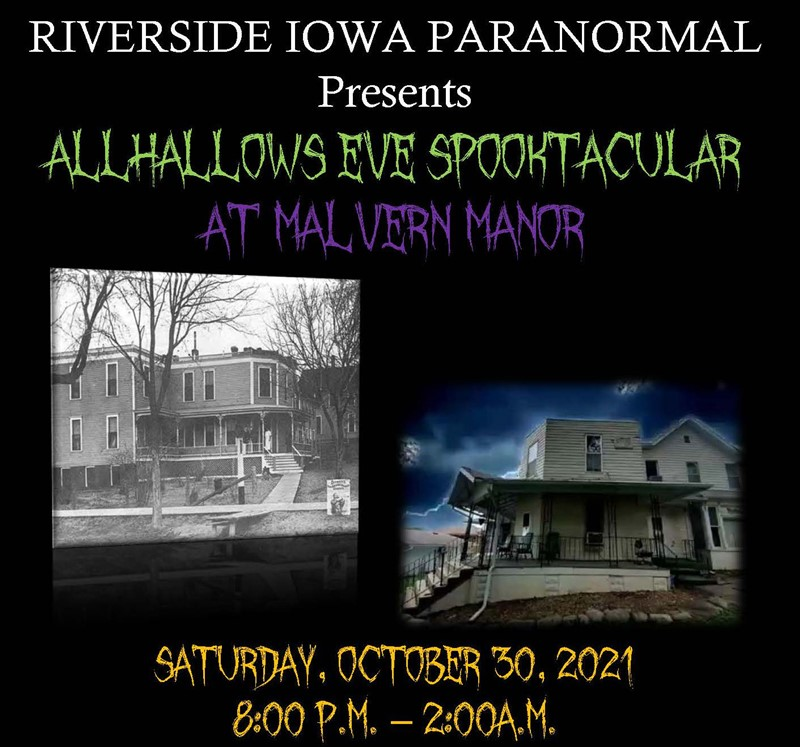 ALLHALLOWS EVE SPOOKTACULAR AT MALVERN MANOR