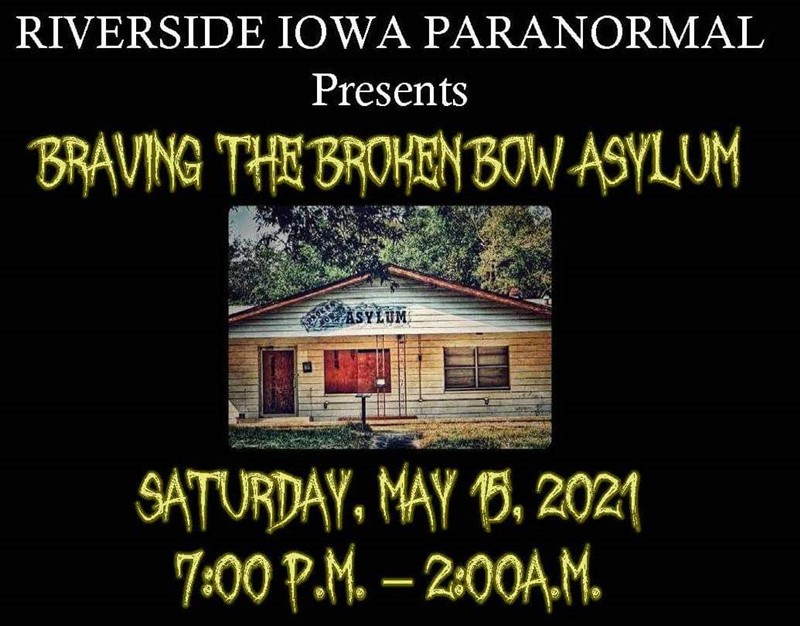 Get Information and buy tickets to Braving the Broken Bow Asylum  on Thriller Events