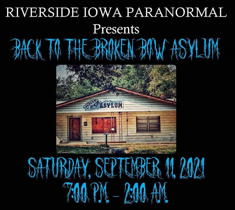 Get Information and buy tickets to Back to the Broken Bow Asylum  on Thriller Events