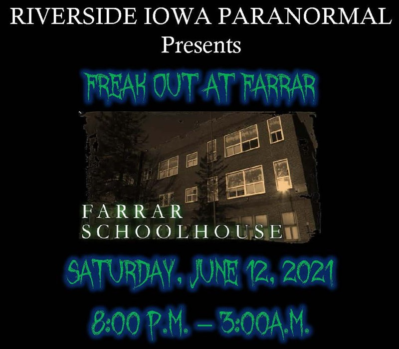 Get Information and buy tickets to Freak Out at Farrar  on Thriller Events