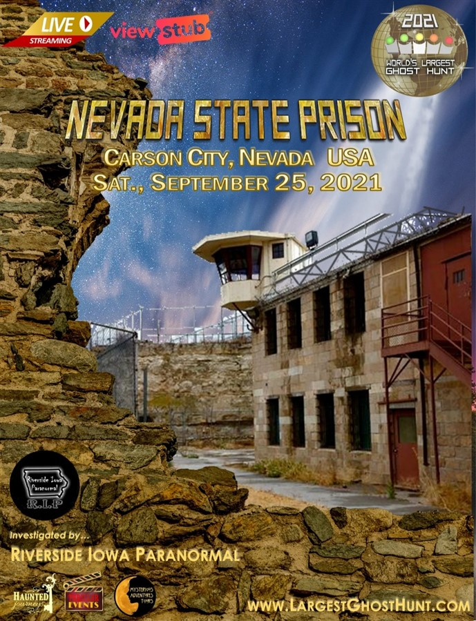 Get Information and buy tickets to Lockdown at Nevada State Prison A Fundraiser for Repairs to the Prison on Thriller Events