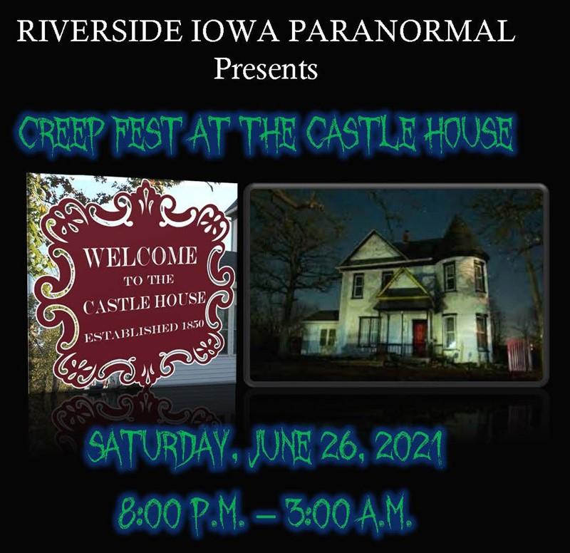Get Information and buy tickets to Creep Fest at the Castle House  on Thriller Events