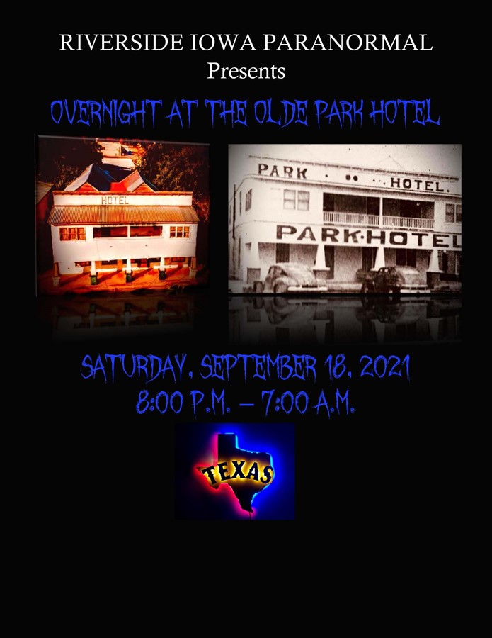 Get Information and buy tickets to Overnight at the Olde Park Hotel  on Thriller Events