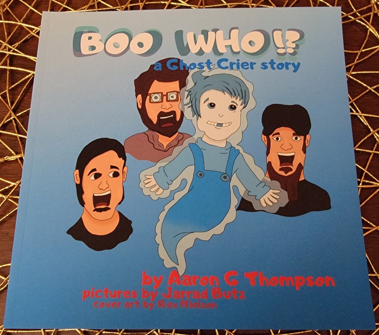 BOO WHO!?  A Ghost Crier Story