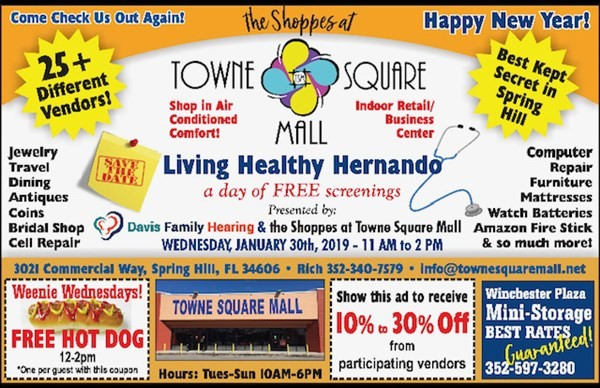 Get Information and buy tickets to FREE: Living Healthy Hernando Complimentary Screenings and Health Care Checks on HernandoPost.com