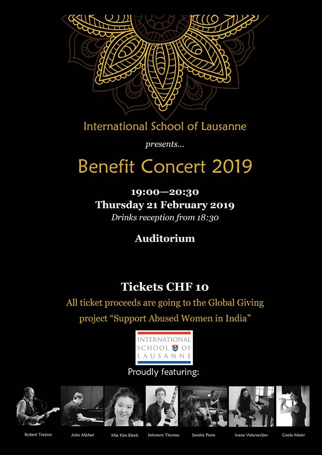 Get Information and buy tickets to Benefit Concert 2019  on https://www.isl.ch