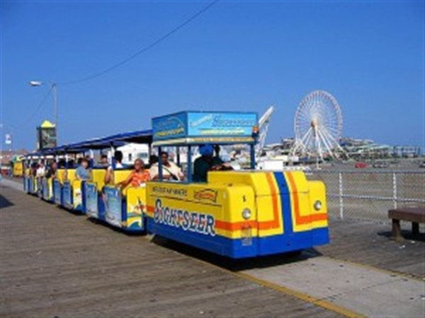 Get Information and buy tickets to One Way Tram Car Ride  on Wild island Graphics