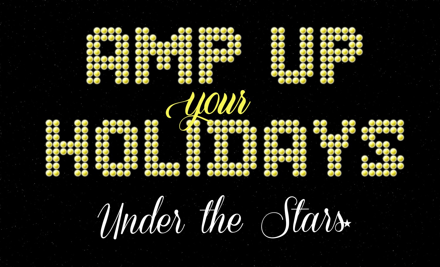 Amp Up Your Holidays Under the Stars  on Dec 12, 19:00@SHS Football Stadium - Buy tickets and Get information on socasteeperformingarts.com