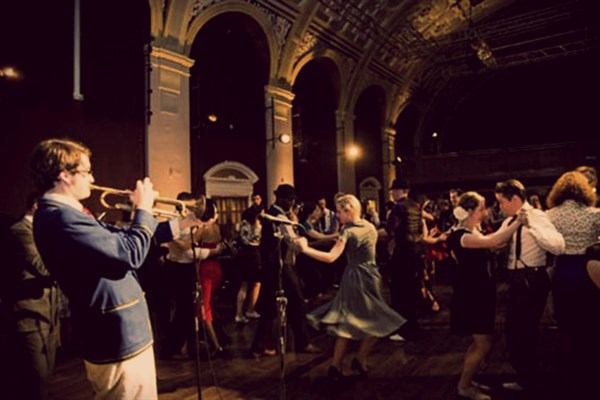 The Savoy Ball Lates 12.30am-2am Late night dancing with The Shirt Tail Stompers on Apr 28, 00:30@The Grand Hall, Battersea Arts Centre - Buy tickets and Get information on The Savoy Ball tickets.savoyball.com