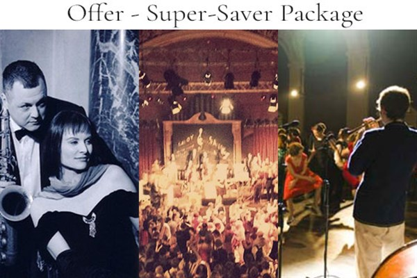 Super-Saver Package - Matinee + Ball + Lates - £66