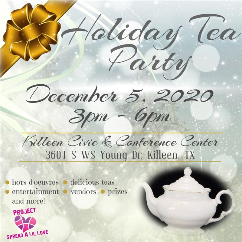 Get Information and buy tickets to Holiday Tea Party 2020  on Holiday Tea Party