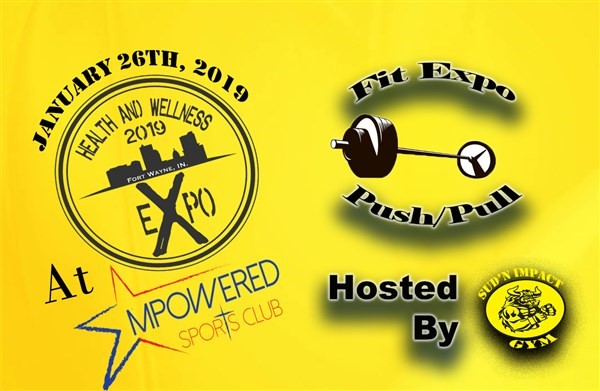 2019 Fit Expo Push/Pull Competition Entry fee