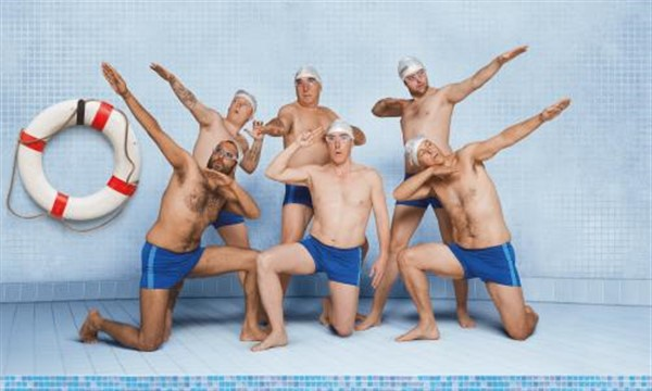 Get Information and buy tickets to Swimming with Men English Audio on Jimmy's Exclusive Club and Bar