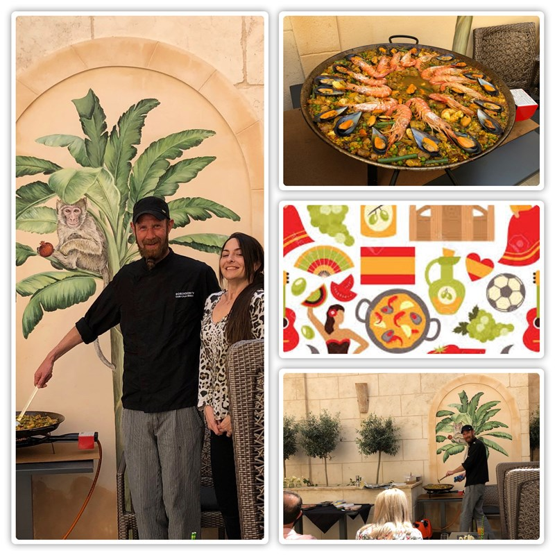 Get Information and buy tickets to Paella Masterclass Lunch : Paella Masterclass Almuerzo Members may reserve a place :Socios pueden reservar un lugar on Jimmy's Exclusive Club and Bar