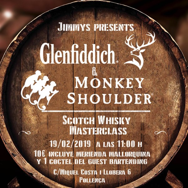 Get Information and buy tickets to Whisky Masterclass with Glenfiddich  on Jimmy's Exclusive Club and Bar